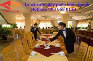Xin giấy phép kinh doanh nhà hàng - quán ăn