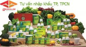 xin giấy phép nhập khẩu thực phẩm chức năng