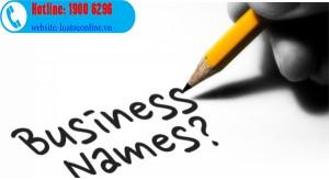 Quy định về đặt tên công ty theo luật doanh nghiệp