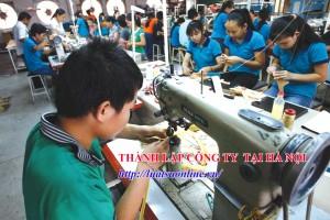 Hồ sơ thành lập công ty tại Hà Nội