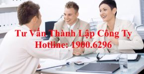 Tư vấn dịch vụ thành lập công ty