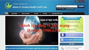 Dịch vụ thành lập công ty qua mạng