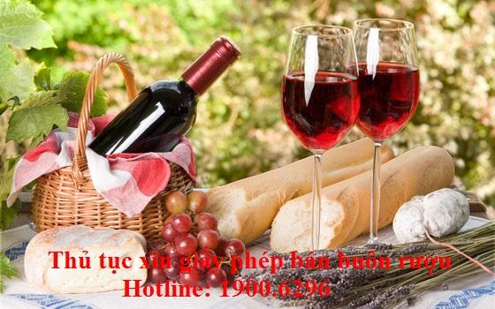Thủ tục xin giấy phép bán buôn rượu