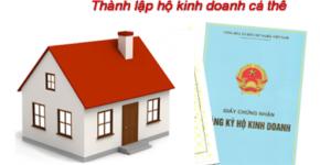 dịch vụ thực hiện thủ tục thành lập hộ kinh doanh tại Hà Nội