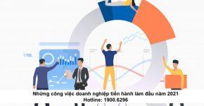 Những công việc doanh nghiệp tiến hành làm đầu năm 2021