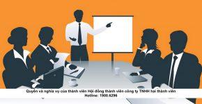 Quyền và nghĩa vụ của thành viên Hội đồng thành viên công ty TNHH hai thành viên