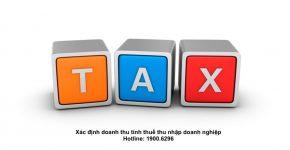 Xác định doanh thu tính thuế thu nhập doanh nghiệp