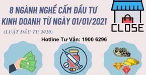Danh sách ngành nghề bị cấm kinh doanh tại Việt Nam