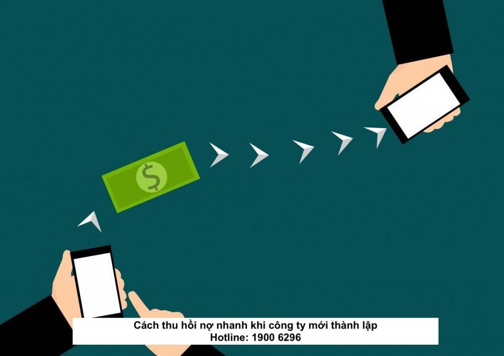 Cách thu hồi nợ nhanh khi công ty mới thành lập